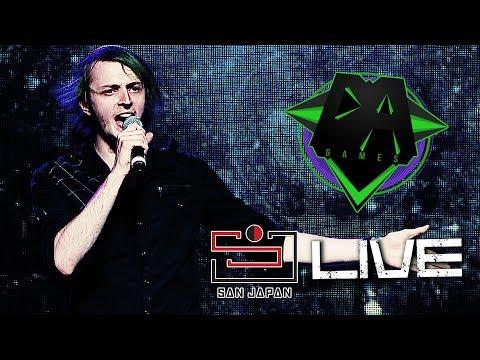 LIVE @ SAN JAPAN 2018 (YouTubers Concert) - DAGames, Caleb Hyles, OR3O, CG5 & RichaadEB