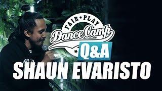 Q&A | Shaun Evaristo: 'Dance brings joy into life' | Fair Play Dance Camp 2017