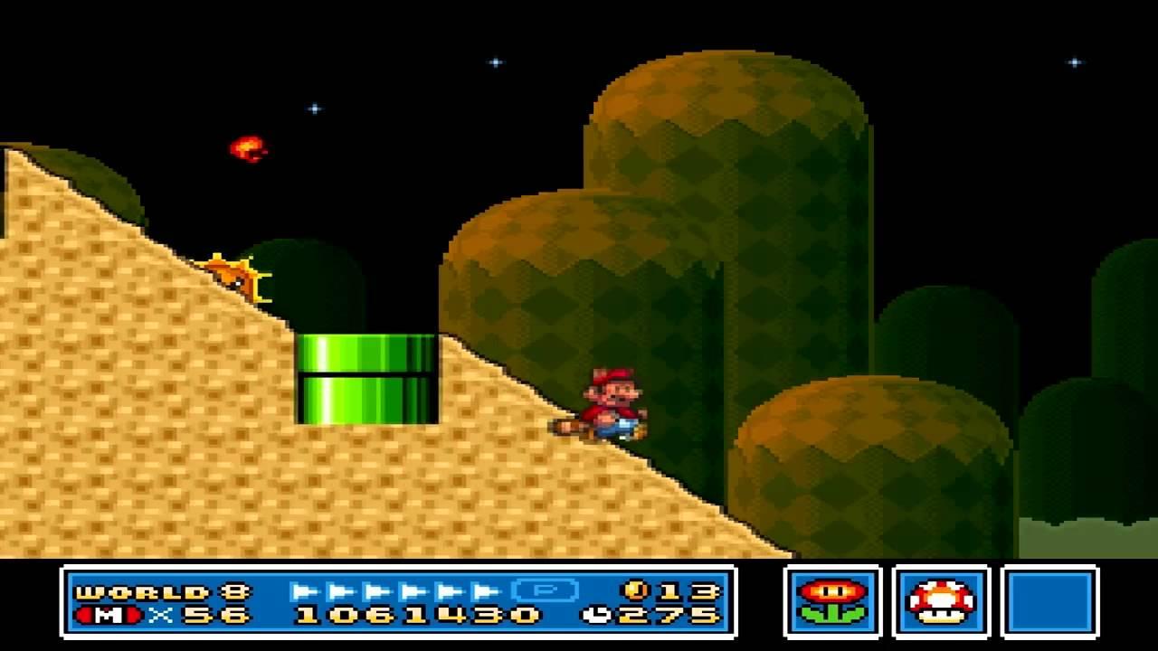 Super Mario Bros 3 World 8 Level 2