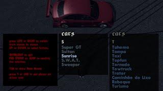 Como instalar menu de carros no gta san andreas