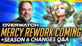 Overwatch | Mercy Rework CONFIRMED & INCOMING + Changes to Competitive Season 6