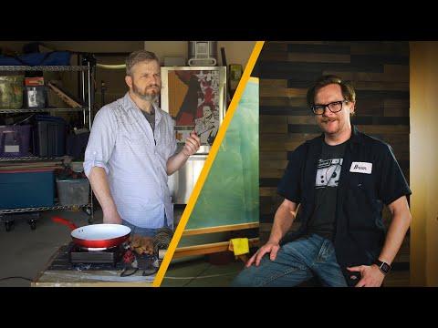 How To Make A Garage Look Like A TV Studio