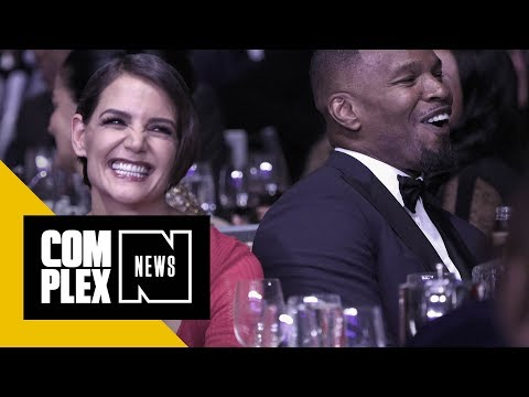 Jamie Foxx Storms Out of Interview After Being Asked About Katie Holmes