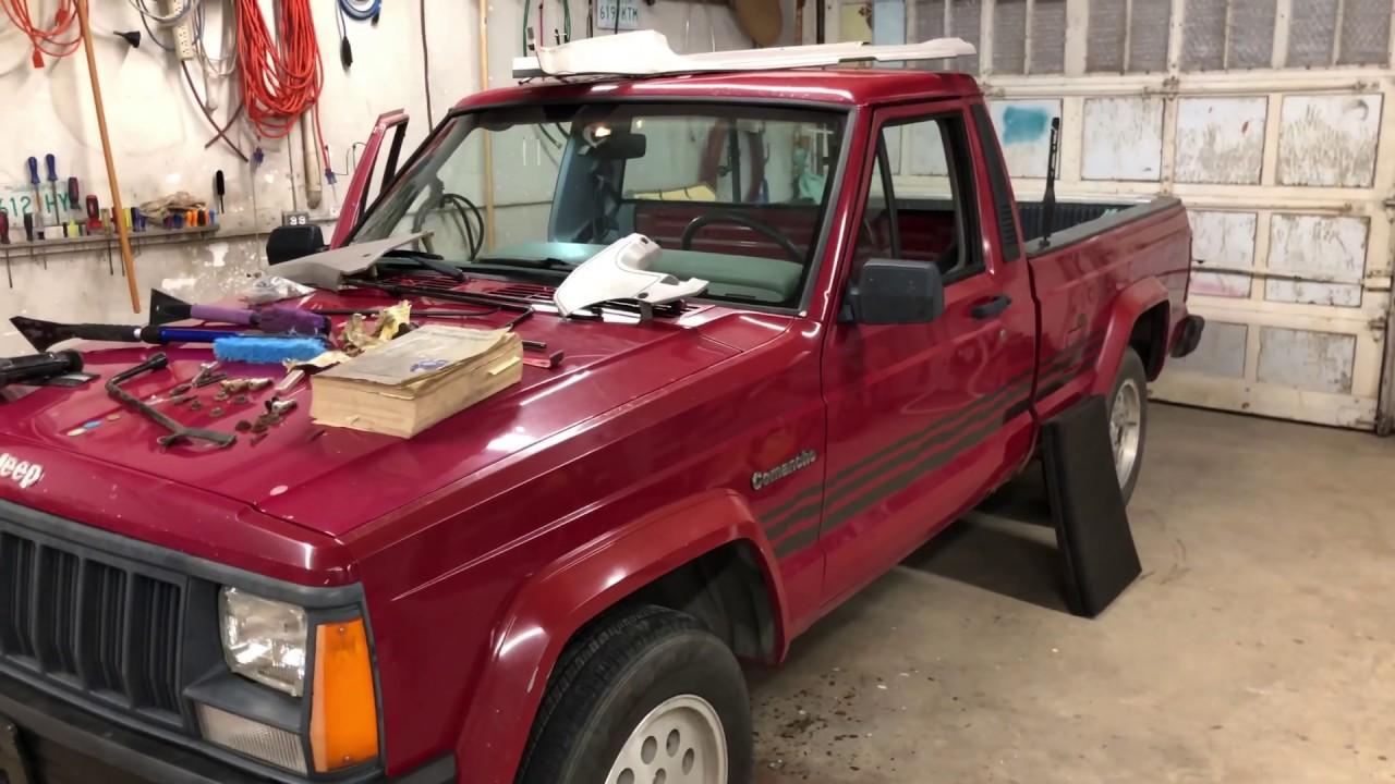 Jeep Comanche Rusted Out Floor Part 1 Youtube