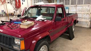 Jeep Comanche Rusted Out Floor (Part 1??)