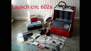 Launch CNC 602a. (Китай) .Стенд для проверки и чистки форсунок.