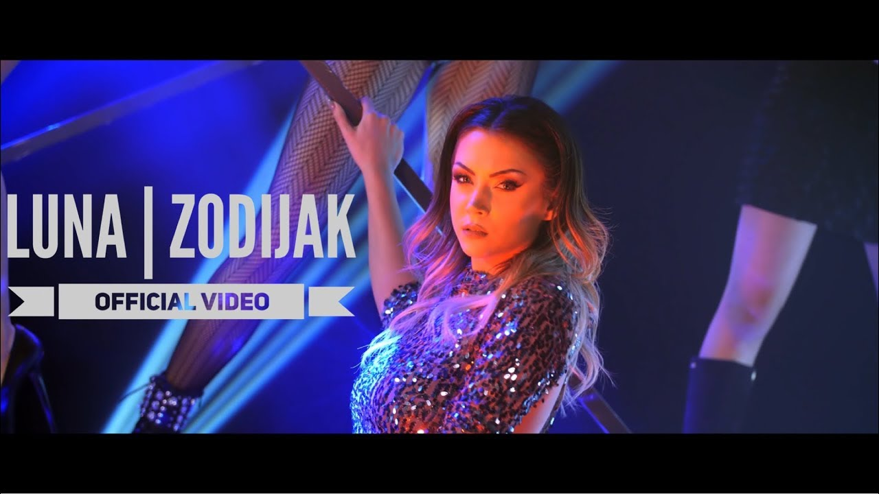 LUNA - ZODIJAK - (OFFICIAL VIDEO 2018) 4K