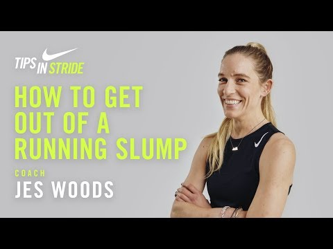 How to Get Out of a Running Slump: Jes Woods I NRC Tips in Stride I Nike