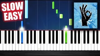 Ed Sheeran - Perfect - SLOW EASY Piano Tutorial by PlutaX Video