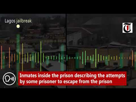 Lagos Jailbreak: Inmates Inside The Prison Describing The Attempts By Prisoners To Escape