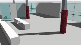 Tarit Office: Fly Through With Sketchup Pro
