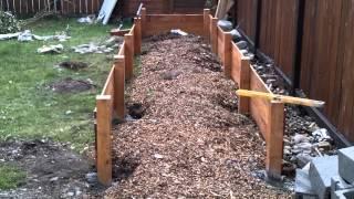 Building A Raised Garden Bed - Part 1