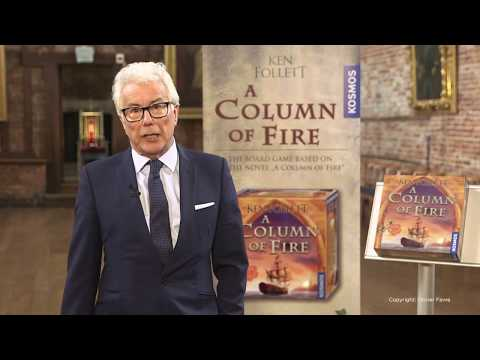 "Ken Follett Introduces ""A Column of Fire"" Board Game"