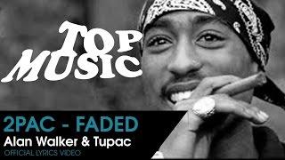 "2Pac & Alan Walker - Faded / "" اجمل اغنيية حزينة ""رحيل توباك"