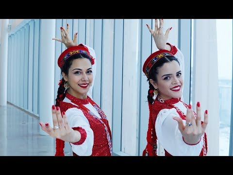 Traditional Tajik/Pamiri Dance| Gul Ba Ruit | Nilofar and Amyna