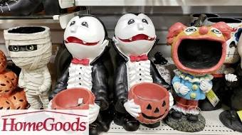 Homegoods Halloween WITCHES AND PUMPKINS SHOP WITH ME 2018 SEPTEMBER