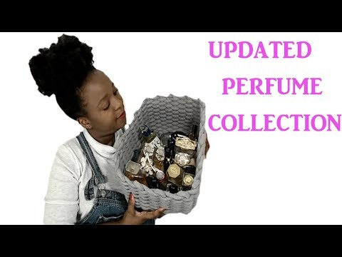 UPDATED PERFUME COLLECTION 2018