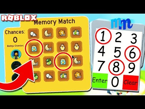 This SECRET Memory Match CHEAT Will Make YOU RICH In Bee Swarm Simulator (Roblox)