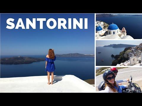 Travel Vlog l SANTORINI, GREECE