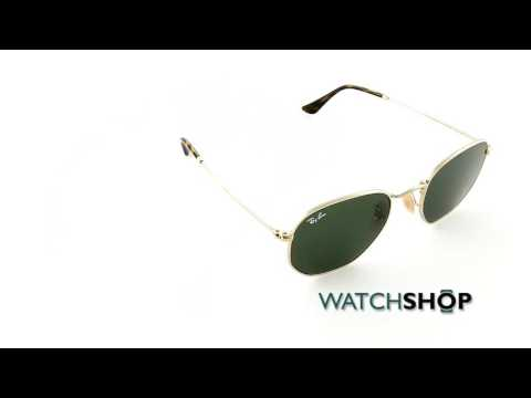 ray-ban-men's-hexagonal-flat-lens-sunglasses-(rb3548n-001-51)