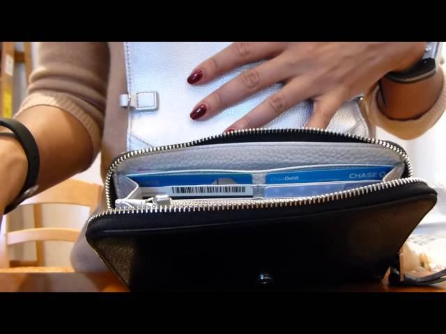 62ea415f6bfe Tory Burch Thea Crossbody Wallet - YouTube