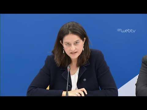 Συνέντευξης Τύπου της Νίκης Κεραμέως για το νομοσχέδιο του ΥΠΕΘ