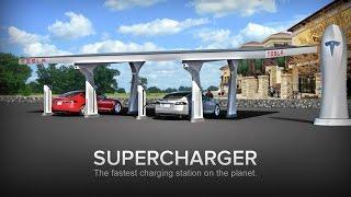 Los Superchargers de Tesla en España