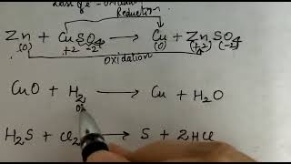 Class 10 trick to identify oxidation and reduction reaction