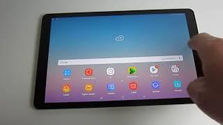 Samsung Galaxy Tab A 10.5 SM-T590N | UI Performance & Impressions