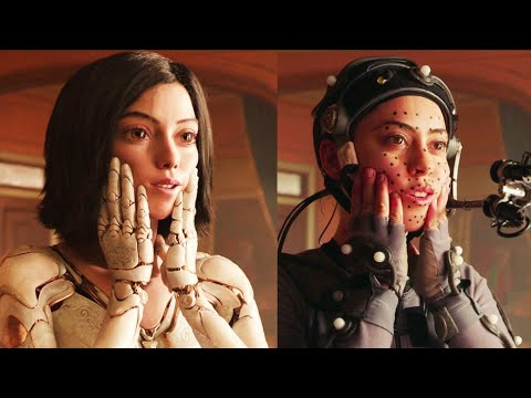 ALITA BATTLE ANGEL Performance Capture + Behind The Scenes Preview