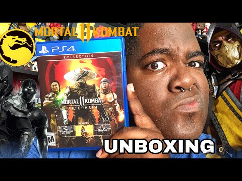 Mortal Kombat 11 Aftermath Kollection Ps4 Unboxing Youtube