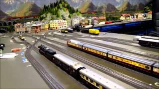 Alle treinen rijden.