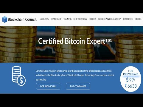 Become A Certified Bitcoin Expert With Blockchain Council