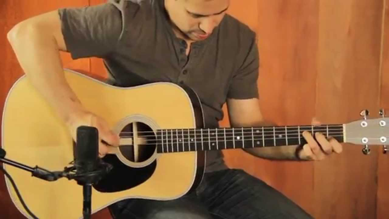 Martin D 28 Standard Series Acoustic Guitar Demo Youtube
