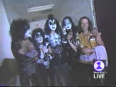 Kiss - Opening Night Farewell Tour 3-11-00 Hosted by Ted Nugent