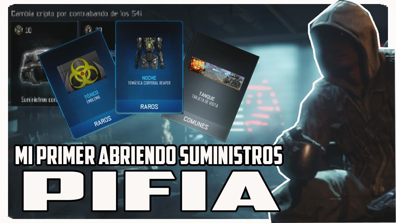 Call of duty black ops 3 my first blunder opening supplies for Black ops 3 decorations