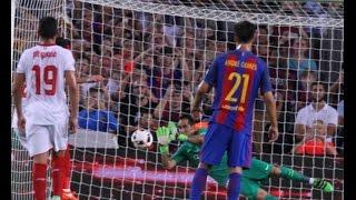 Барселона Севилья 1-0 Незабитый пенальти Иборра