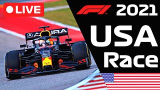 🔴F1 LIVE - USA GP RACE (Race Started) - Commentary + Live Timing