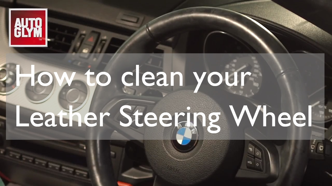 Steering Wheel Cleaner >> How To Clean A Leather Steering Wheel