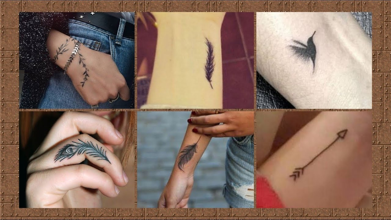 Cute and Attractive Hand Tattoo Design for girls 20 collection