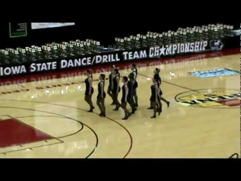 Ruby Blue - Graceland University Gadets team - Iowa State Dance Championship