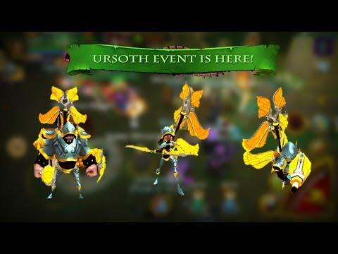 Arcane Legends - Evento Ursoth