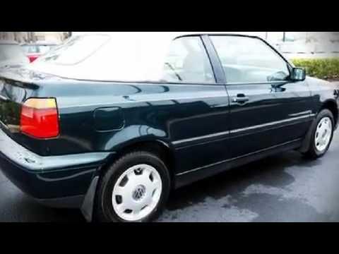 1998 Volkswagen Cabrio Manual Convertible In Orlando Fl 32810 Youtube