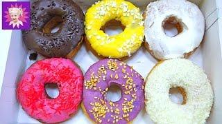 ДОНАТС ЧЕЛЛЕНДЖ или вкусные пончики вкусный и сладкий челлендж с детьми Challenge children