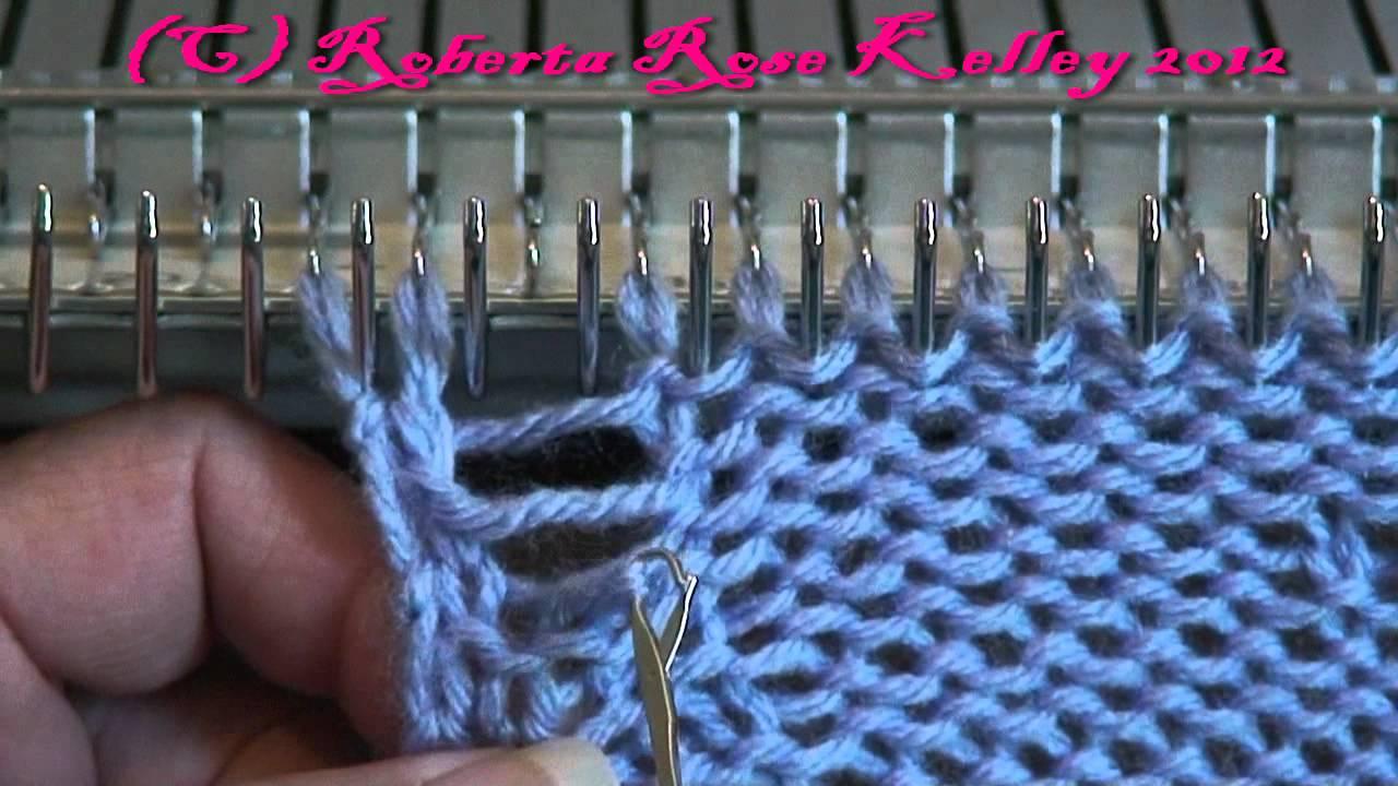 Machine knit dishwash cloth youtube machine knit dishwash cloth bankloansurffo Image collections