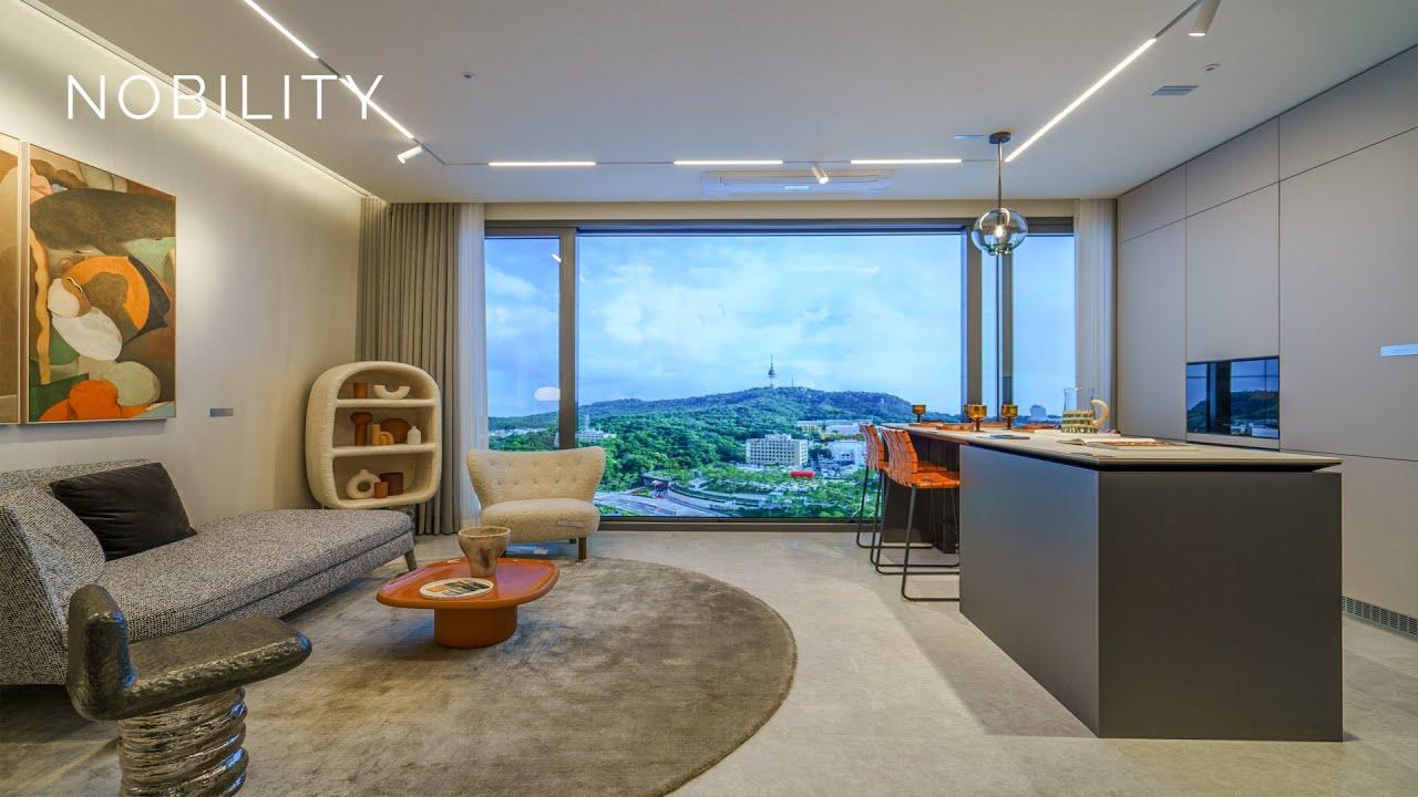 [ High-end little house ] 서울의 중심 완벽한 휴식공간 하이엔드 컬렉션 버밀리언 남산 / 인공지능 홈 LOT 호텔식 컨시어지 서비스