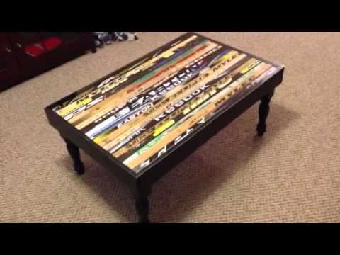 hockey stick table youtube. Black Bedroom Furniture Sets. Home Design Ideas