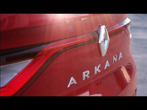 Renault назвала имя российского кроссовера Arkana 2019