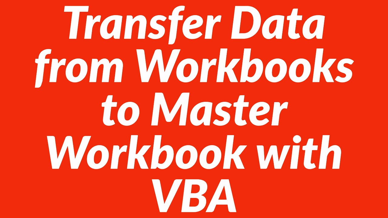 Worksheets Vba Worksheet improved vba code to copy data from multiple worksheets in workbooks into master workbook