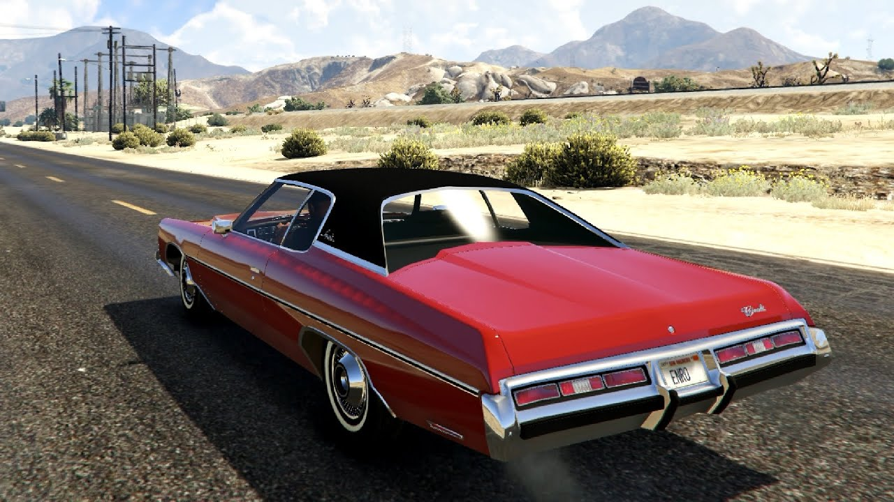 chevrolet impala 1972 gta v youtube